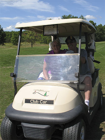 Golf-carting