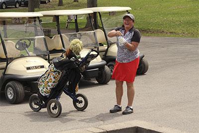 Golf-gal