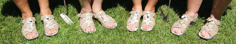 Golf-sandles