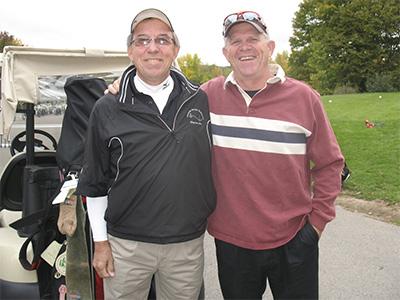 Golfers-pair