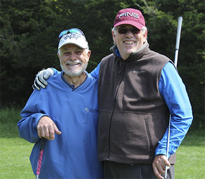 Golfing-buddies