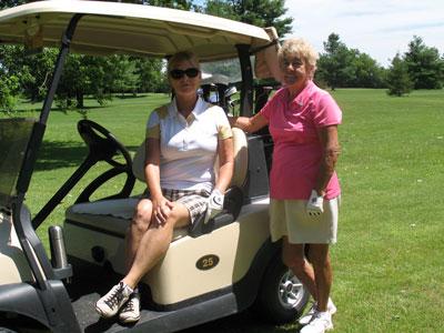 Ladies-golfing