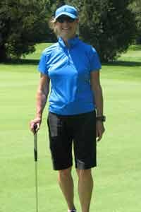 Bonnie-golfing