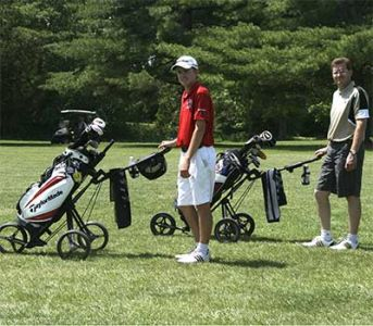 Father-son-golfers