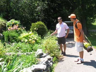 Golf-garden