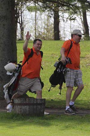 Golf-walk