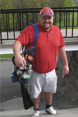 Golfer-mark