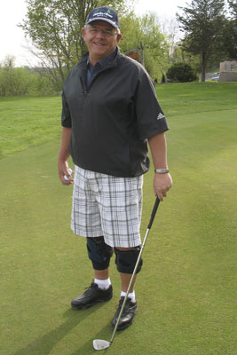 Golfer-ray