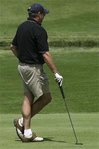 Golfer-steve