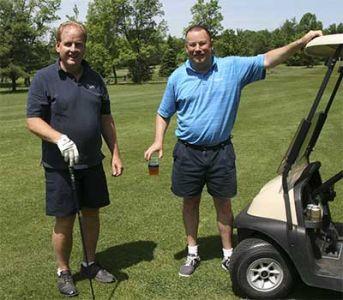 Golfers-two