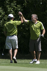 High-five-golf-style