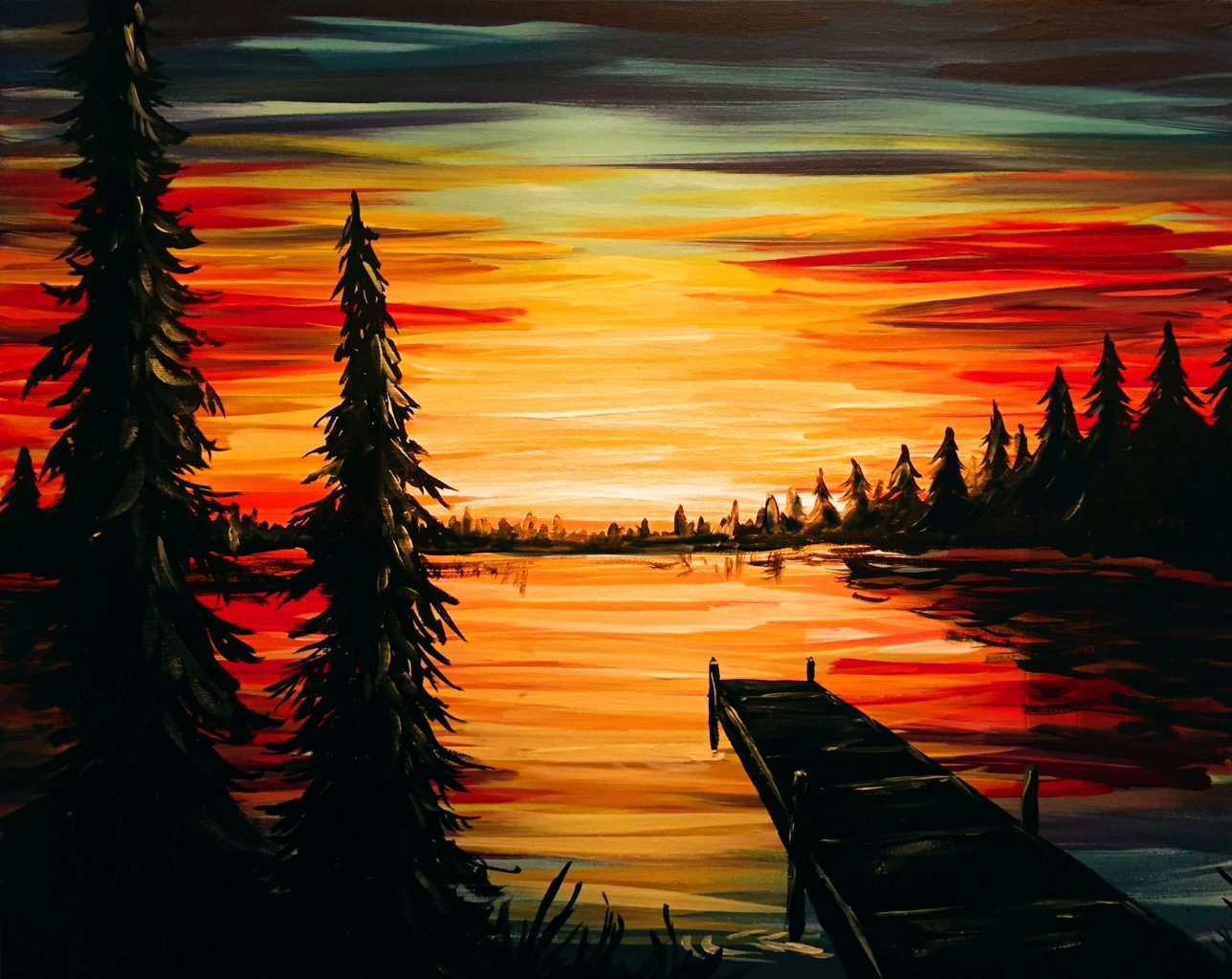 PAINT NITE Here at Camden Braes. **NEW** couples and kids dates.